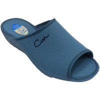Schuhe Damen Sandalen / Sandaletten Calzamur Offene Zehen und Ferse der Sommerflipflo Blau