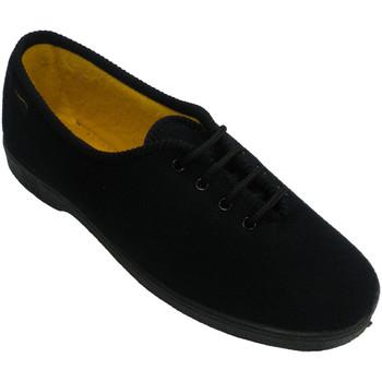 Schuhe Damen Sneaker Low Doctor Cutillas Ältere Person der Schuhspitze-Frau Docto Schwarz