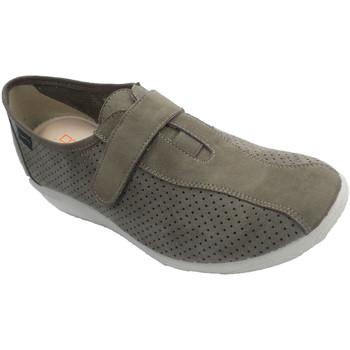 Schuhe Damen Slip on Doctor Cutillas Damenschuhe, die Wildlederschuh simulier Beige