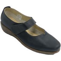Schuhe Damen Ballerinas 48 Horas Frauenschuh mit merceditas-Artgurt 48 Ho Blau