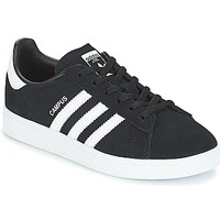 Schuhe Kinder Sneaker Low adidas Originals CAMPUS C Schwarz