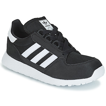 Schuhe Kinder Sneaker Low adidas Originals OREGON C Schwarz