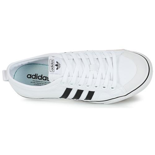 adidas Originals NIZZA Weiss / / / Schwarz  Schuhe Sneaker Low  69,95 a320d1