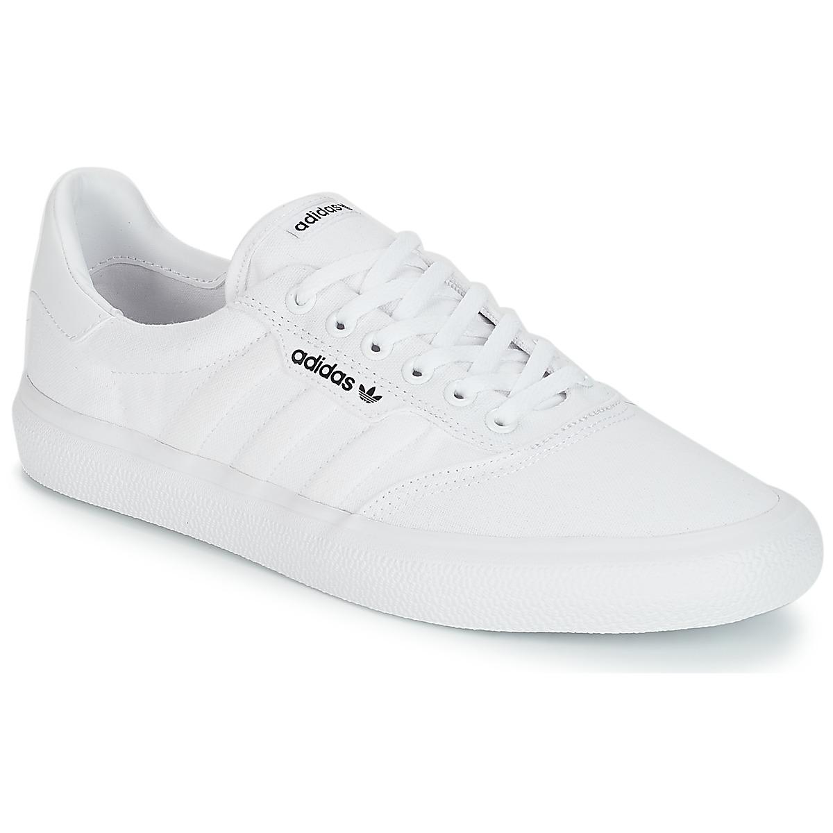 adidas Originals 3MC Weiss - Kostenloser Versand bei Spartoode ! - Schuhe Sneaker Low  64,95 €