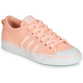 Schuhe Damen Sneaker Low adidas Originals NIZZA W Rose