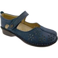 Schuhe Damen Ballerinas Calzaturificio Loren LOM2313bl blu