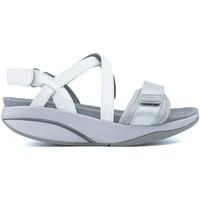 Schuhe Damen Sandalen / Sandaletten Mbt S CHANTEL W SILVER