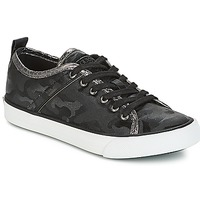 Schuhe Damen Sneaker Low Guess JOLIE Schwarz