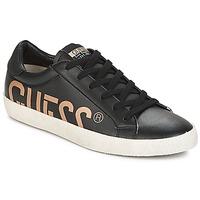 Schuhe Herren Sneaker Low Guess RYAN Schwarz