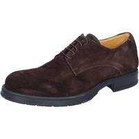Schuhe Herren Derby-Schuhe & Richelieu Salvo Barone elegante braun wildleder BZ164 braun