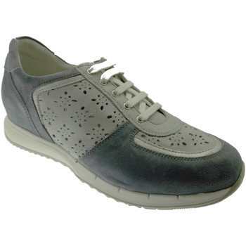 Schuhe Damen Sneaker Low Calzaturificio Loren LOC3795bl blu