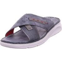 Schuhe Herren Pantoffel Rieker - 25497-14 ozean/iron