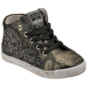 Schuhe Kinder Sneaker High Liu Jo 20764 Zip sportstiefel