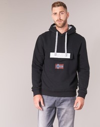 Kleidung Herren Sweatshirts Napapijri BURGEE Schwarz