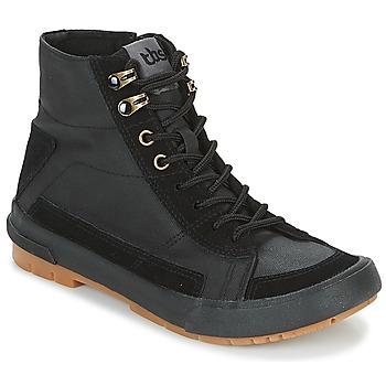 Schuhe Damen Sneaker High TBS BIVOUAC Schwarz