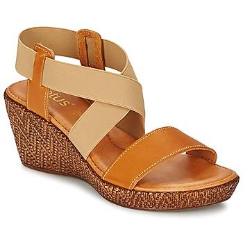 Schuhe Damen Sandalen / Sandaletten Lotus EMILIANO Braun / Beige