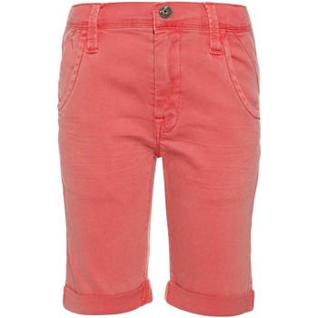 Kleidung Jungen Shorts / Bermudas Name It Kids NKMSOFUS TWICAS LONG SHORTS AD Rosa
