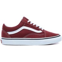 Schuhe Damen Sneaker Vans UA OLD SKOOL APPLE BUTTER Rot