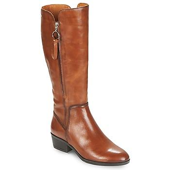 Schuhe Damen Klassische Stiefel Pikolinos DAROCA W1U Camel