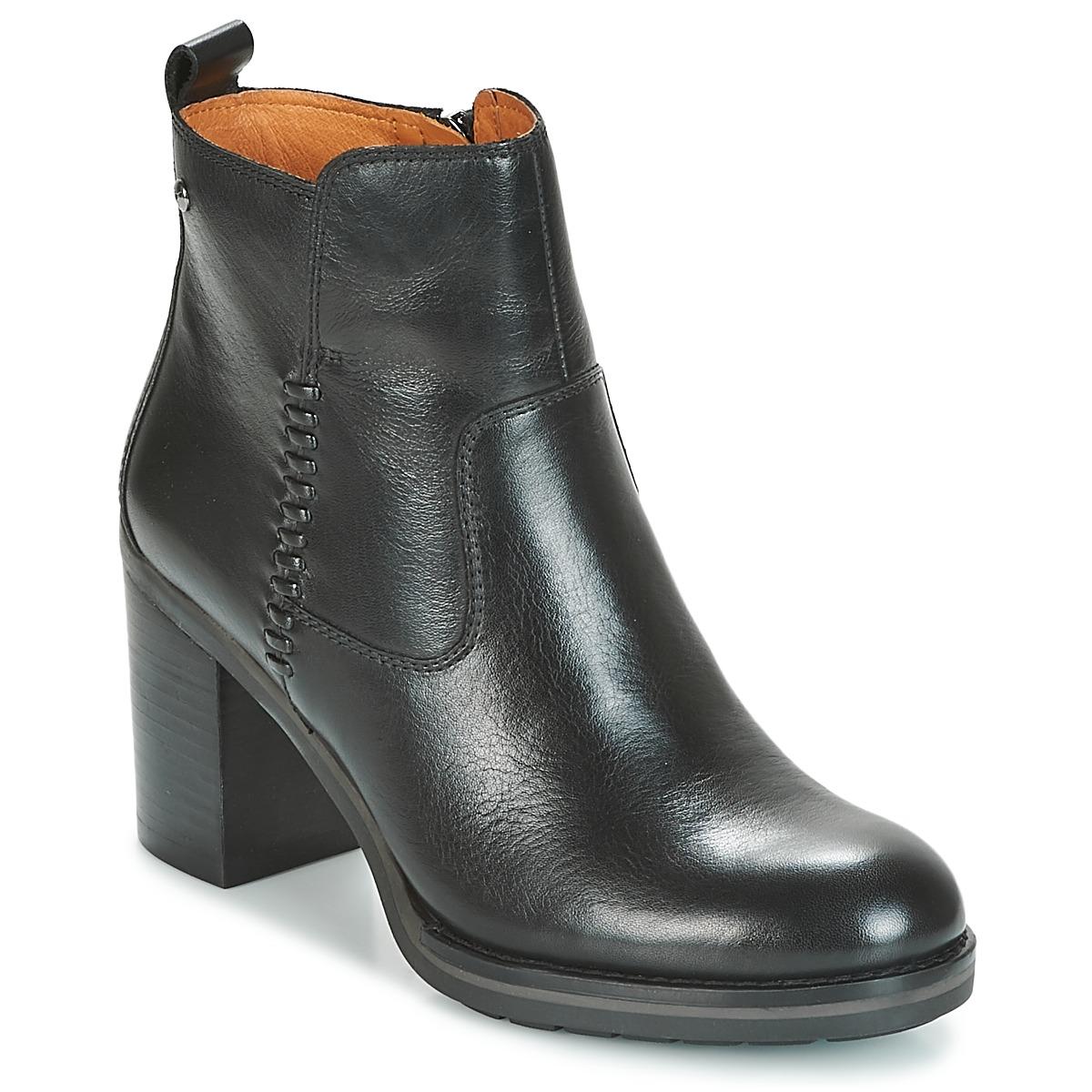 Pikolinos POMPEYA W9T Schwarz - Kostenloser Versand bei Spartoode ! - Schuhe Low Boots Damen 119,00 €