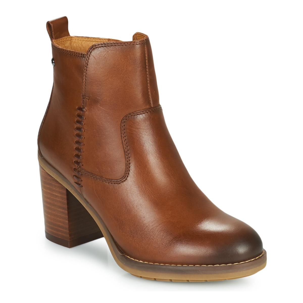 Pikolinos POMPEYA W9T Camel - Kostenloser Versand bei Spartoode ! - Schuhe Low Boots Damen 119,00 €
