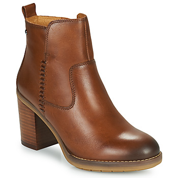 Schuhe Damen Low Boots Pikolinos POMPEYA W9T Camel