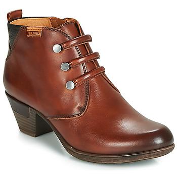 Schuhe Damen Low Boots Pikolinos ROTTERDAM 902 Braun