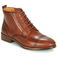 Schuhe Damen Boots Pikolinos ROYAL W4D Camel