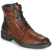 Schuhe Herren Boots Pikolinos YORK M2M Braun / Marine