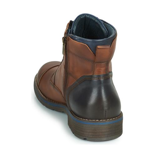 Pikolinos YORK Boots M2M Braun / Marine Schuhe Boots YORK Herren 129 1c5fc6