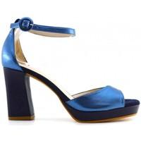 Schuhe Damen Sandalen / Sandaletten Lodi Julio bleu Multicolor