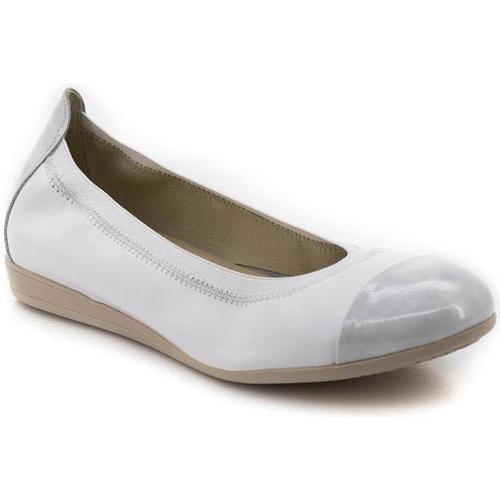 Schuhe Damen Derby-Schuhe & Richelieu Marroquí Sánchez 9642 Weiß
