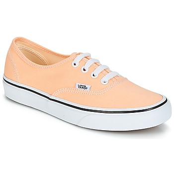 Schuhe Damen Sneaker Low Vans AUTHENTIC Beige