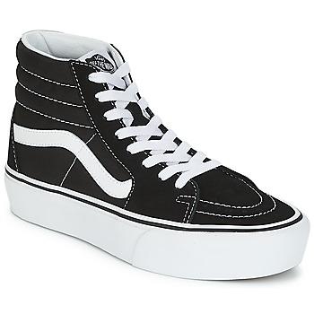 Schuhe Damen Sneaker High Vans SK8-HI PLATFORM 2.1 Schwarz / Weiss