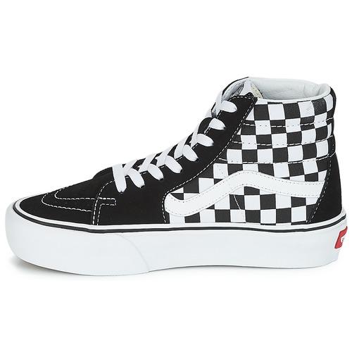 Vans SK8-HI PLATFORM 2.1 Schwarz / Weiss  Schuhe Sneaker High Damen 94,99