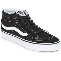 Schuhe Sneaker High Vans SK8-MID REISSUE Schwarz / Weiss