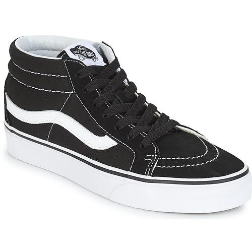 Vans SK8-MID REISSUE Schwarz / Weiss  Schuhe Sneaker High  79,99