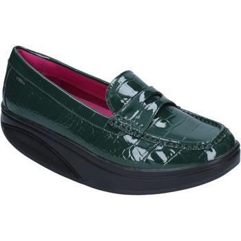 Schuhe Damen Slipper Mbt mokassins grün lack dynamic BZ906 grün