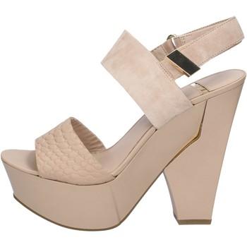 Schuhe Damen Sandalen / Sandaletten Marciano sandalen beige wildleder leder BZ430 beige