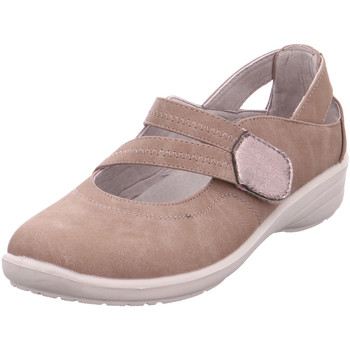 Schuhe Damen Slipper Hengst Ladies Comfort Shoes Taupe 52 Taupe
