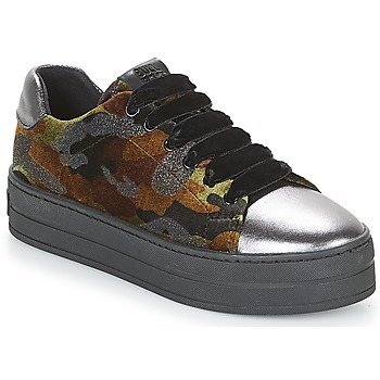 Schuhe Damen Sneaker Low Bullboxer TECHA Gunn