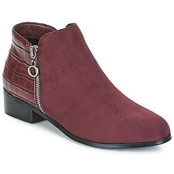 Schuhe Damen Boots Moony Mood JADE Rot