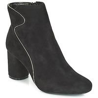 Schuhe Damen Low Boots Moony Mood JUDY Schwarz