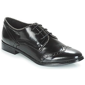 Schuhe Damen Derby-Schuhe Moony Mood JENNY Schwarz