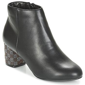 Schuhe Damen Low Boots Moony Mood JAPSERA Schwarz
