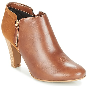 Schuhe Damen Ankle Boots Moony Mood FADI Camel