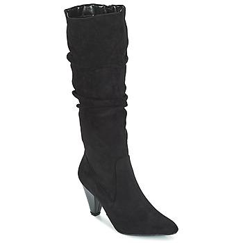 Schuhe Damen Klassische Stiefel Moony Mood JULMA Schwarz