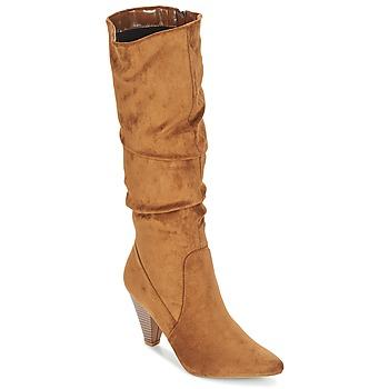 Schuhe Damen Klassische Stiefel Moony Mood JULMA Braun