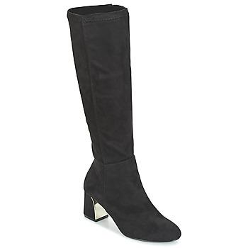 Schuhe Damen Klassische Stiefel Moony Mood JORDANA Schwarz