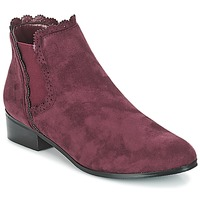 Schuhe Damen Boots Moony Mood JERMA Aubergine